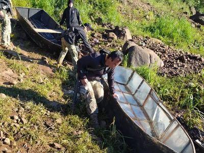 Incautan embarcaciones usadas para ingreso ilegal al país en CDE