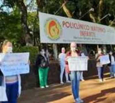 En medio de la pandemia, enfermeros reclaman por salarios dignos