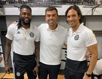 Roque afirma que Adebayor quiere hacer goles con Olimpia