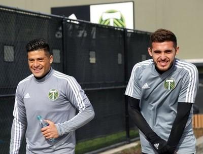 La MLS vuelve a los entrenamientos grupales