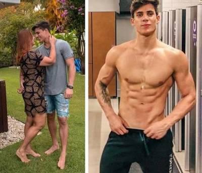 Mamá de Neymar vuelve con su novio de 22 años en medio de controversias