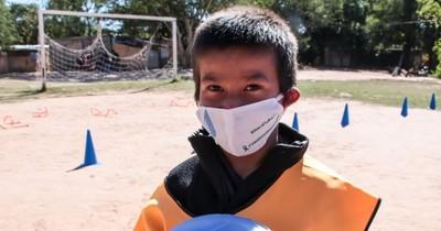 Día del Juego: Niños reciben juguetes para sobrellevar la cuarentena