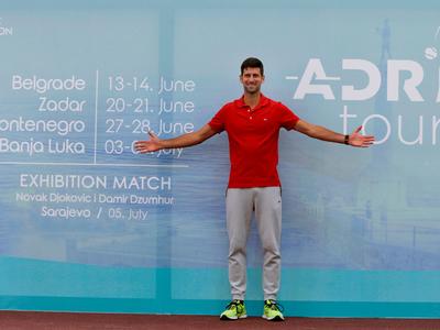 Djokovic volverá a las canchas con su propio torneo