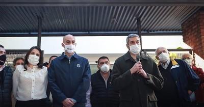 "Cuestionan ""interés"" de Abdo en proselitismo en plena pandemia"