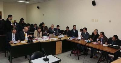 Caso audios JEM: Vía libre para conformar Tribunal de Sentencia que juzgará a los acusados