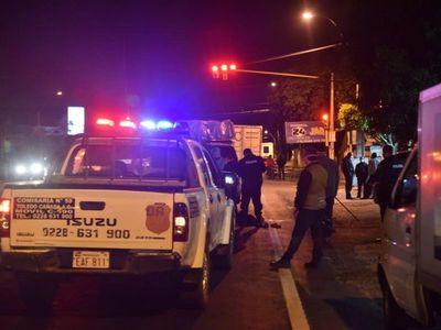 Hombre muere tras ser embestido por un camión en Capiatá
