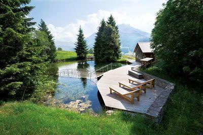 Un rincón para pequeñas aventuras en el centro de Suiza