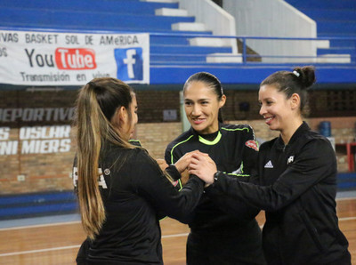 Futsal Femenino: autoridades para la final.