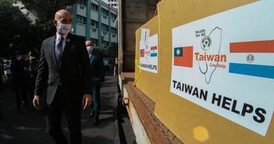 Taiwán entrega importante donación de insumos sanitarios a Paraguay