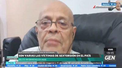 Julio González Cabello cuenta que cayó en red de banda de sextorsión
