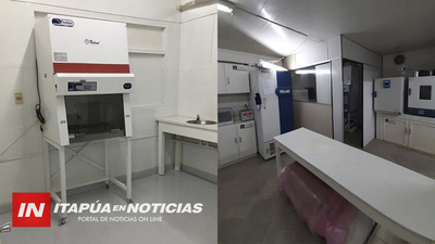 HABILITAN PRIMER LABORATORIO BIOMOLECULAR DEL INTERIOR DEL PAÍS