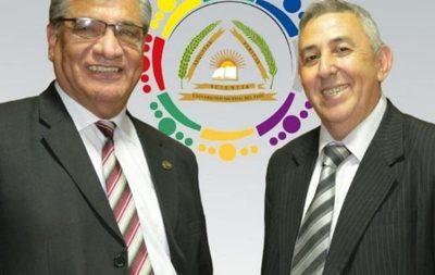 Osvaldo Caballero es nuevo rector de la UNE