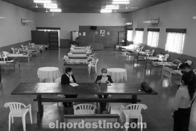 Habilitan albergue en Pedro Juan Caballero para compatriotas que vienen del exterior y deben cumplir cuarentena obligatoria