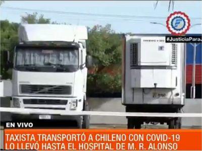 Camionero chileno, internado en Terapia Intensiva por Covid-19