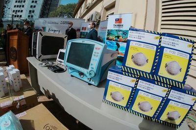Salud recibió importante donación de insumos médicos de Taiwán