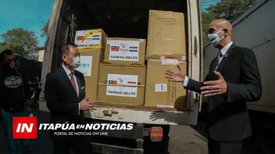 IMPORTANTE DONACIÓN DE TAIWÁN PARA LA LUCHA CONTRA EL COVID-19