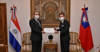 Asume José Chih-Cheng Han, nuevo embajador de Taiwán en Paraguay