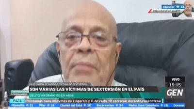 Julio González Cabello cuenta que cayó en redes de banda de sextorsión