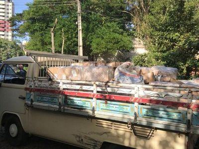 Paraguayos pretendían ingresar al país con 2.000 kilos de pollo