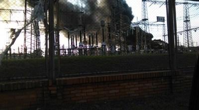 San Pedro: incendio deja a 17.000 familias sin energía