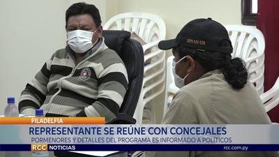 CAPACITAN A LA JUNTA DEPARTAMENTAL DE BOQUERÓN ACERCA DEL PROGRAMA TEKOPORA