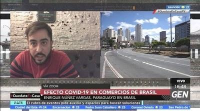 HOY / Consecuencias del Covid-19 en el sector comercial de Brasil