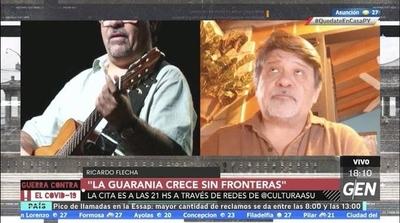 """HOY / """"La guarania crece sin fronteras"""", 12 guaranias compuestas por artistas extranjeros"""