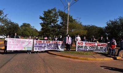 Pacientes con cáncer urgen a Mario Abdo un espacio en el Hospital Nacional