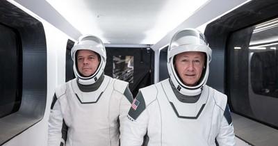 9 curiosidades del lanzamiento tripulado SpaceX/Nasa