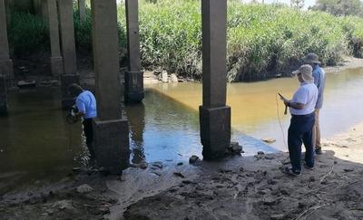 Arroyo Caañabé: intendentes informan mejoramiento de las aguas