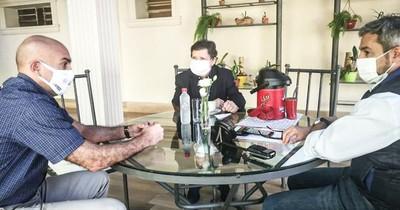 Mario Abdo analiza fase 2 de la cuarentena con ministros de Salud e Interior