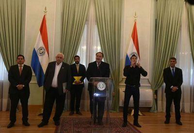 Consejo de Gobernadores del Paraguay brinda su apoyo a Mazzoleni