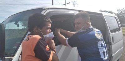 Hijastro de Kelembú cae cuando ingresaba ilegalmente a extranjeros