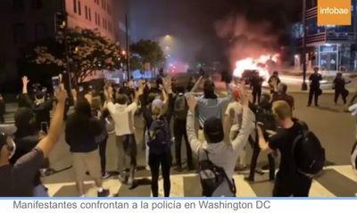 Disturbios en EEUU: una persona murió en Indianápolis y la Guardia Nacional custodia siete estados del país