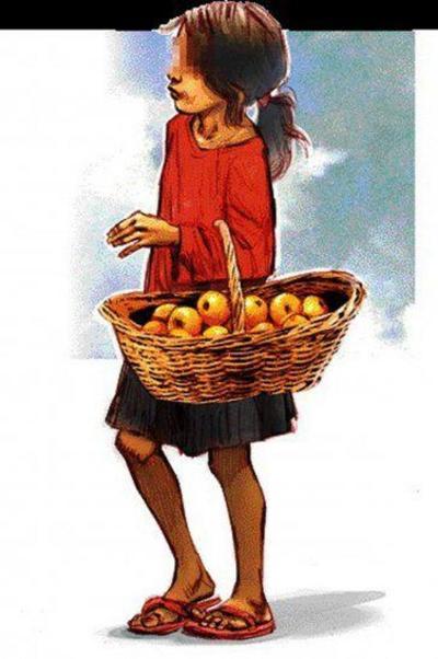 La calle estaba tan fría y ella tuvo que salir a vender sus mandarinas – Prensa 5