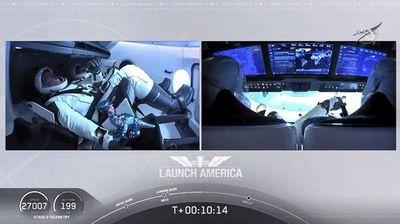 Cápsula de SpaceX se acopla a la Estación Espacial Internacional