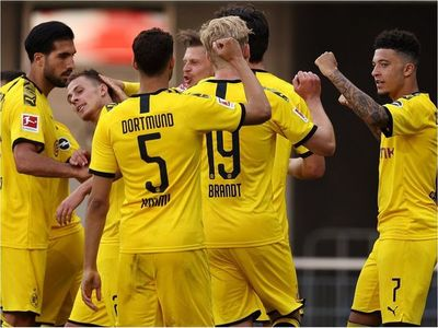 El Dortmund, a falta de Haaland, recupera la mejor versión de Sancho