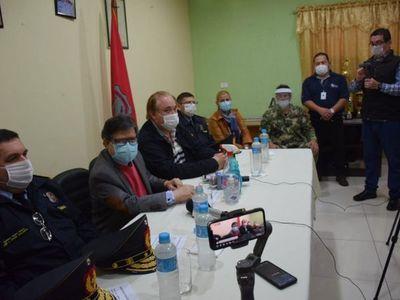 """Gobierno pondrá """"cinturón de seguridad"""" a Alto Paraná para frenar Covid-19"""