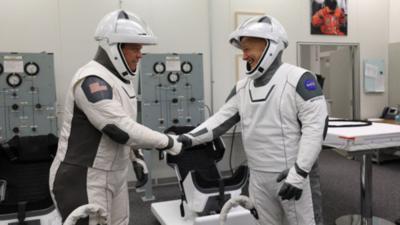 Curiosidades del primer vuelo tripulado de SpaceX y la NASA