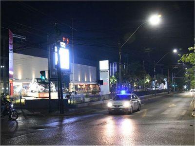 Accidente en horas de la madrugada dejó un fallecido y cuatro detenidos