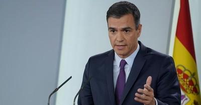 Sánchez anuncia prórroga del estado de alarma en España hasta el 21 de junio