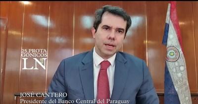 """José Cantero: """"Paraguay es uno de los pocos países que se plantean una solidez macroeconómica"""""""