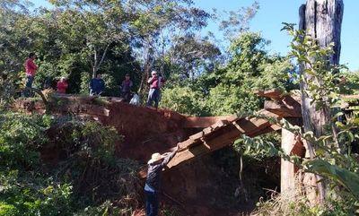 Urgen construcción de puente en Eusebio Ayala