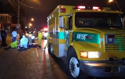 Intendente de Ñemby involucrado en accidente de tránsito