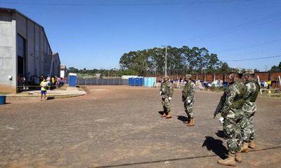 13 infectados por contacto con militar
