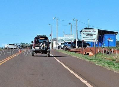 La nueva RUTA del CONTRABANDO comienza en la FRONTERA SECA entre Pindoty Porá y Sete Quedas