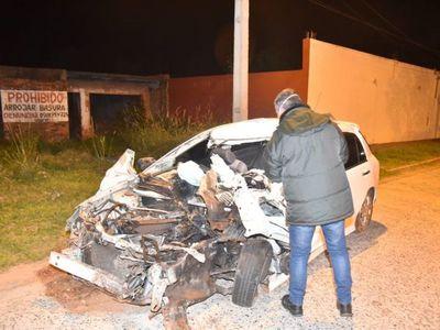 Violento accidente deja un fallecido en Villeta