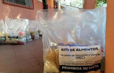 MEC arranca con la cuarta entrega de kits alimenticios