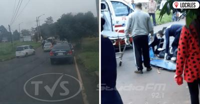 Arroyo Porá: conductor tras protagonizar accidente se fugó del lugar