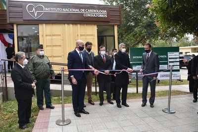 Gobierno inauguró importante obra en emblemático Hospital San Jorge